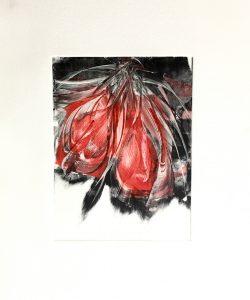 Passion 28×38 2020 – Technique : monotype – Collection privée