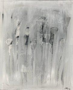 Souvenirs lointains 65×50 2021 – Technique : Acrylique sur toile